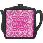 Moroccan & Damask Teapot Trivet (Personalized)
