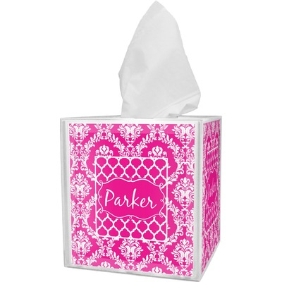 Moroccan & Damask Tissue Box Cover (Personalized)