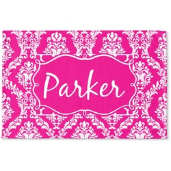 Moroccan & Damask Woven Mat (Personalized)