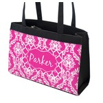 Moroccan & Damask Zippered Everyday Tote (Personalized)