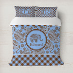 Gingham & Elephants Duvet Covers (Personalized)
