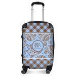 Gingham & Elephants Suitcase (Personalized)