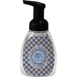 Gingham & Elephants Foam Soap Dispenser (Personalized)