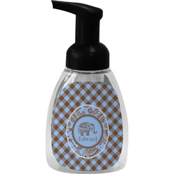 Gingham & Elephants Foam Soap Dispenser (Personalized)