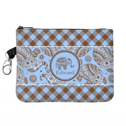 Gingham & Elephants Golf Accessories Bag (Personalized)