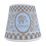Gingham & Elephants Empire Lamp Shade (Personalized)