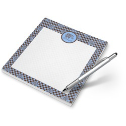 Gingham & Elephants Notepad (Personalized)