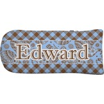 Gingham & Elephants Putter Cover (Personalized)