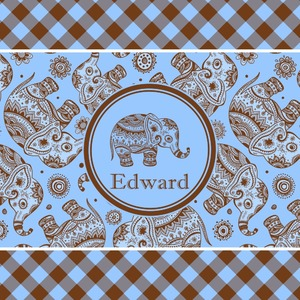 Gingham & Elephants