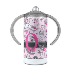 Princess 12 oz Stainless Steel Sippy Cup (Personalized)