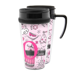 Princess Acrylic Travel Mugs (Personalized)