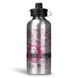 Princess Water Bottle - Aluminum - 20 oz (Personalized)