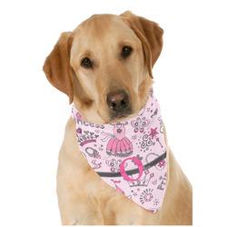 Princess Dog Bandana Scarf w/ Name and Initial