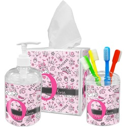 Princess Bathroom Accessories Set (Personalized)