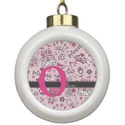 Princess Ceramic Ball Ornament (Personalized)