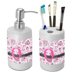 Princess Bathroom Accessories Set (Ceramic) (Personalized)