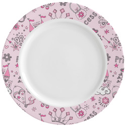 Princess Ceramic Dinner Plates (Set of 4) (Personalized)