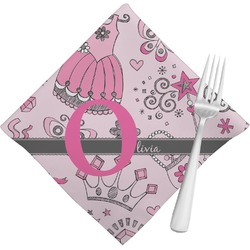 Princess Cloth Napkins (Set of 4) (Personalized)