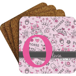 Princess Coaster Set w/ Stand (Personalized)