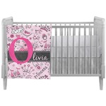 Princess Crib Comforter / Quilt (Personalized)
