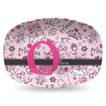 Princess Plastic Platter - Microwave & Oven Safe Composite Polymer (Personalized)