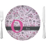 "Princess Glass Lunch / Dinner Plates 10"" - Single or Set (Personalized)"