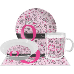 Princess Dinner Set - 4 Pc (Personalized)