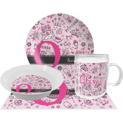 Princess Dinner Set - 4 Pc (Personalized)
