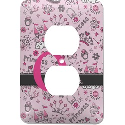 Princess Electric Outlet Plate (Personalized)