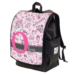 Princess Backpack w/ Front Flap  (Personalized)
