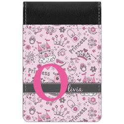 Princess Genuine Leather Small Memo Pad (Personalized)