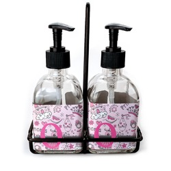 Princess Soap & Lotion Dispenser Set (Glass) (Personalized)
