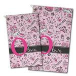 Princess Golf Towel - Full Print w/ Name and Initial