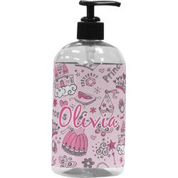 Princess Plastic Soap / Lotion Dispenser (16 oz - Large) (Personalized)