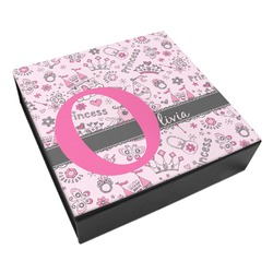Princess Leatherette Keepsake Box - 8x8 (Personalized)