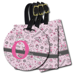 Princess Plastic Luggage Tags (Personalized)