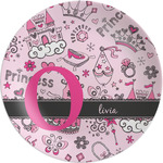 Princess Melamine Plate (Personalized)