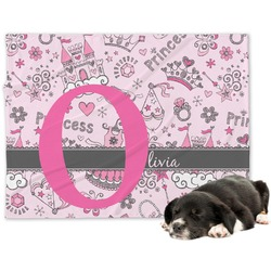 Princess Minky Dog Blanket (Personalized)