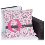Princess Outdoor Pillow (Personalized)