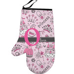 Princess Left Oven Mitt (Personalized)