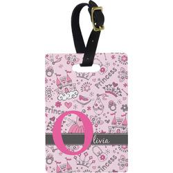 Princess Rectangular Luggage Tag (Personalized)