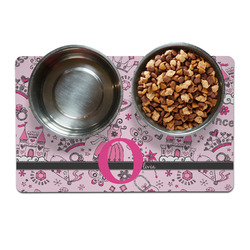 Princess Pet Bowl Mat (Personalized)