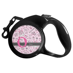 Princess Retractable Dog Leash (Personalized)