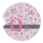 Princess Sandstone Car Coasters (Personalized)