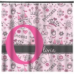 Princess Shower Curtain (Personalized)