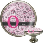 Princess Cabinet Knob (Silver) (Personalized)