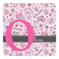 Princess Square Decal - Custom Size (Personalized)