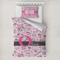 Princess Toddler Bedding w/ Name and Initial