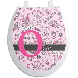Princess Toilet Seat Decal (Personalized)