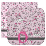 Princess Facecloth / Wash Cloth (Personalized)